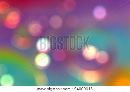 Abstract pattern bokeh