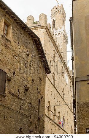 The Historic Center Of Volterra (tuscany, Italy)