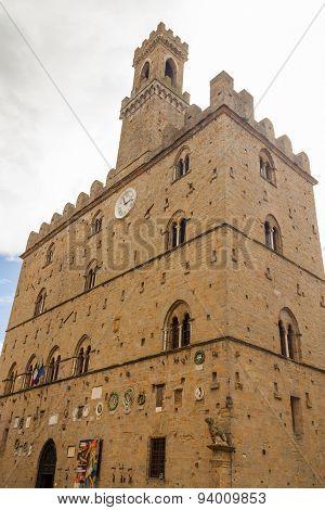 Palazzo Dei Priori In Volterra (italy)