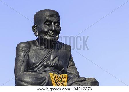 Luang Phor Tuad Buddha In Wat Huai Mongkhon Temple.