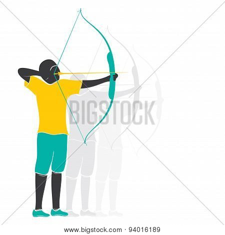 archery player design