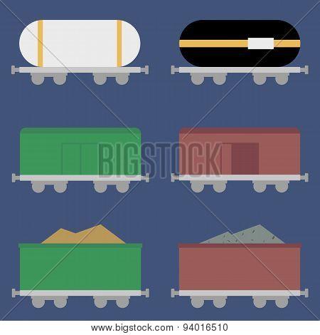 flat wagons