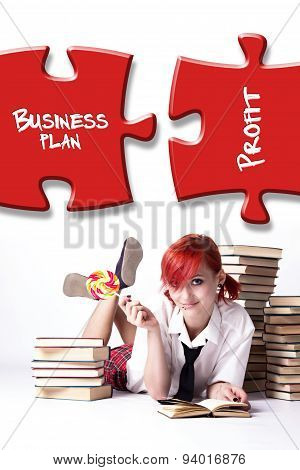 She Is Planning A Successful Business
