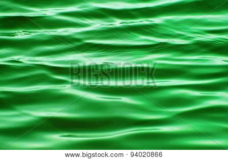 Beautiful Jade green rippling waters