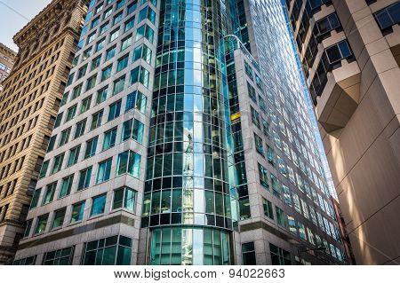 Modern Buildings In City Center, Philadelphia, Pennsylvania.