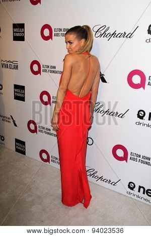 LOS ANGELES - MAR 3:  Carmen Electra at the Elton John AIDS Foundation's Oscar Viewing Party at the West Hollywood Park on March 3, 2014 in West Hollywood, CA