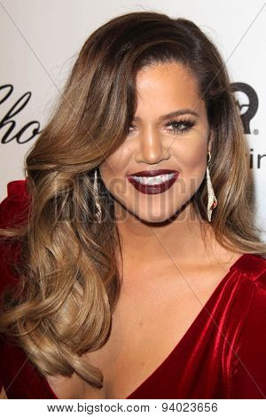 LOS ANGELES - MAR 3:  Khloe Kardashian at the Elton John AIDS Foundation's Oscar Viewing Party at the West Hollywood Park on March 3, 2014 in West Hollywood, CA