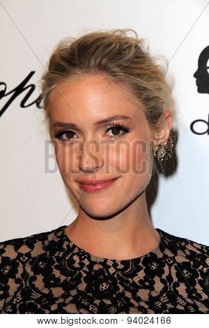 LOS ANGELES - MAR 3:  Kristin Cavallari at the Elton John AIDS Foundation's Oscar Viewing Party at the West Hollywood Park on March 3, 2014 in West Hollywood, CA