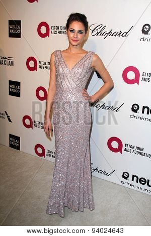 LOS ANGELES - MAR 3:  Willa Holland at the Elton John AIDS Foundation's Oscar Viewing Party at the West Hollywood Park on March 3, 2014 in West Hollywood, CA