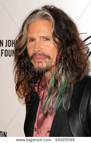 LOS ANGELES - MAR 3:  Steven Tyler at the Elton John AIDS Foundation's Oscar Viewing Party at the West Hollywood Park on March 3, 2014 in West Hollywood, CA