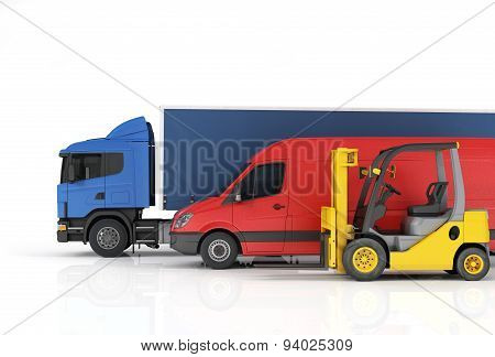 Delivery Vehicles.