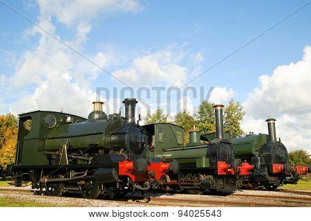 Railway steam engines