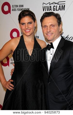LOS ANGELES - MAR 3:  Tony Goldwyn at the Elton John AIDS Foundation's Oscar Viewing Party at the West Hollywood Park on March 3, 2014 in West Hollywood, CA