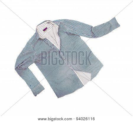 Female Shirt Isolated On White Background