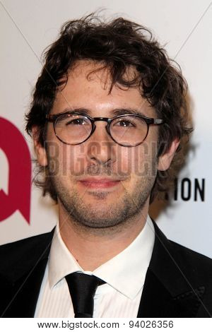 LOS ANGELES - MAR 3:  Josh Groban at the Elton John AIDS Foundation's Oscar Viewing Party at the West Hollywood Park on March 3, 2014 in West Hollywood, CA