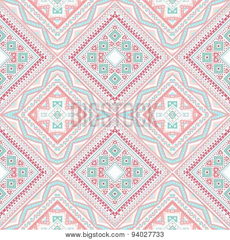 Tribal ethnic corner pattern. Vector illustration