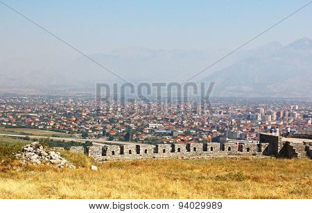 The landscape of Albania