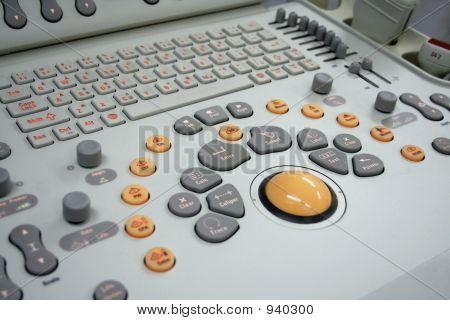 Ultrasound Keyboard