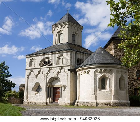 The Chapel Of St. Matthias In Kobern-gondorf, Germany