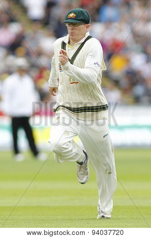 CHESTER LE STREET, ENGLAND - August 09 2013: Chris Rogers during day one of the Investec Ashes 4th test match at The Emirates Riverside Stadium, on August 09, 2013 in London, England.