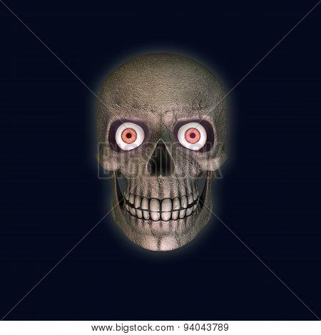 Scarry Skull