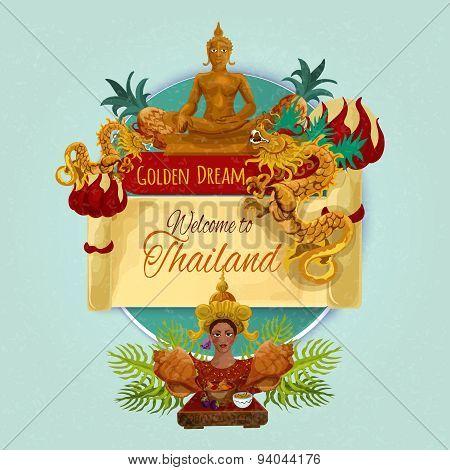 Thailand Touristic Poster