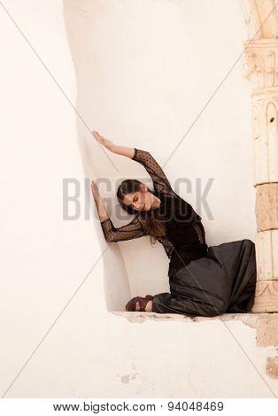 Flamenco And Old Church