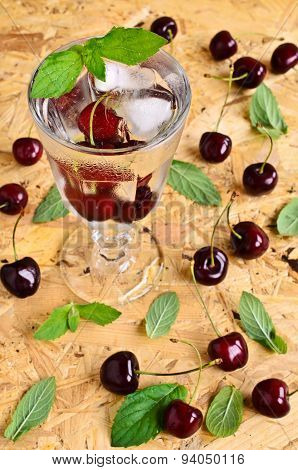 Cocktail With Cherry