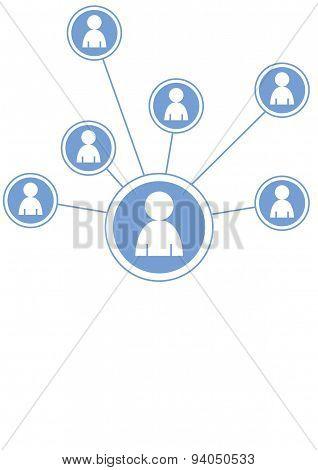social media graphic icons -