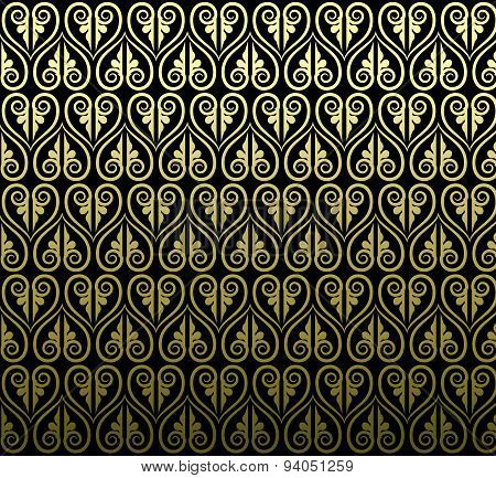 Thai Traditional Art Design. Thai Art Background, Thai Art Pattern, Vector
