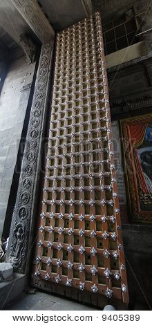 Massive Temple Doors