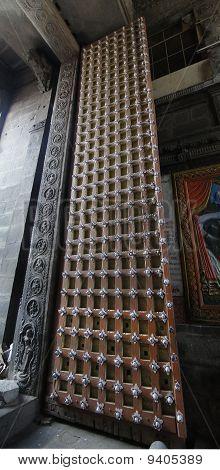 Massive Temple Doors