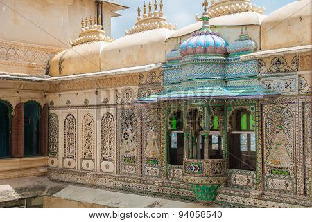 Beautiful Architecture In Udaipur