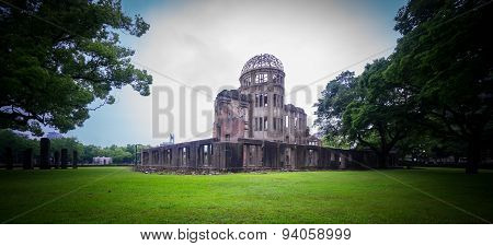 Hiroshima Bomb Dome in Japan.