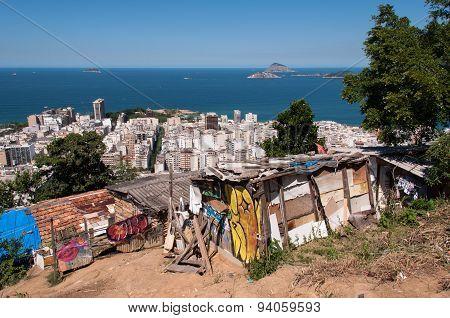 Urban Contrasts of Rio de Janeiro