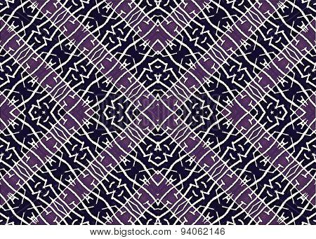 Tribal Symbol Motif Geometric Seamless Pattern