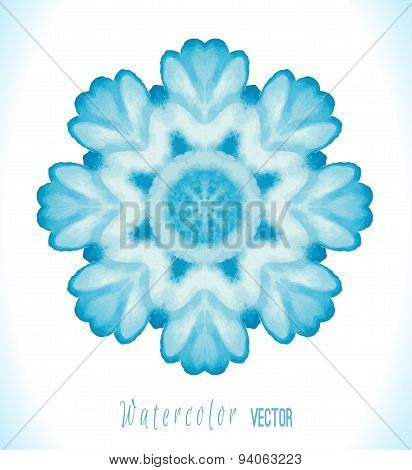 Abstract vector winter background.