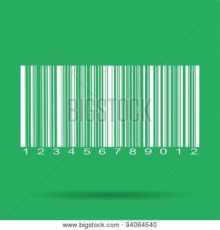 Barcode Icon, Vector Illustration