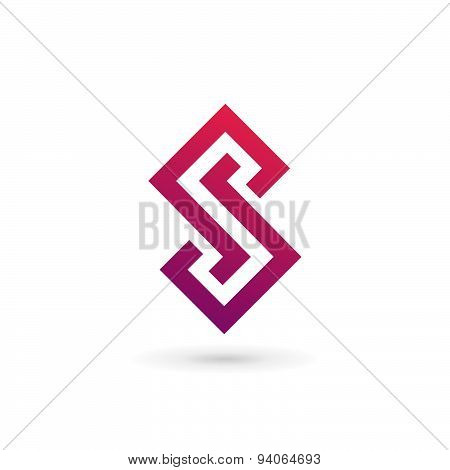 Letter S Logo Icon Design Template Elements