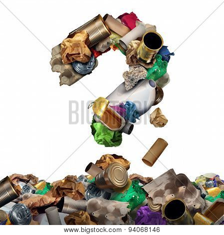 Recycle Garbage Question