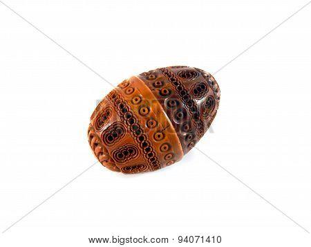 Antique Carved Coquilla Nut
