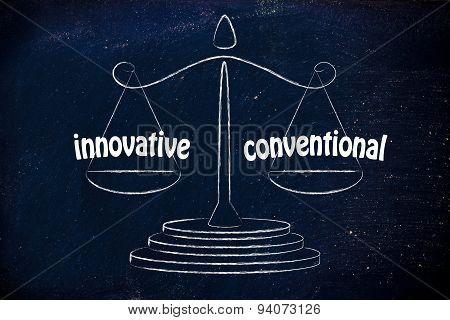Is Your Business (or Product) Innovative Or Conventional?