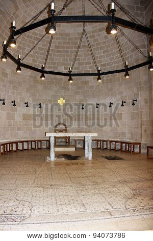 Church Of The Multiplication Of The Loaves And Fish, Tabgha, Israel