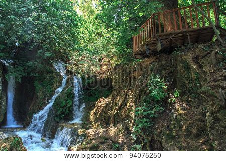 Harbiye Waterfall