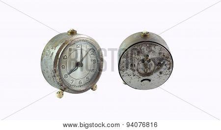 Vintage Rusted Clock