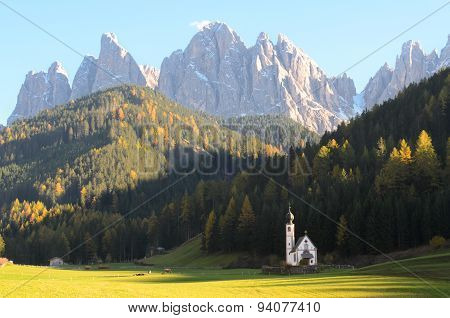 Dolomites Mountain Church