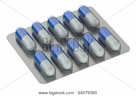 Capsules In Blister Medicament
