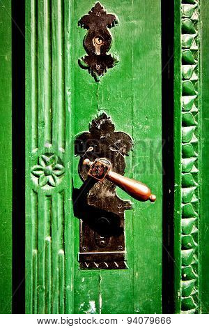 Antique Metal Doorhandle