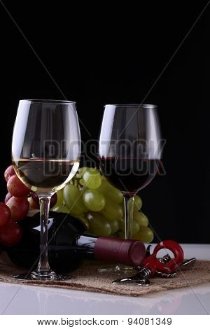 Two Goblets Of Wine