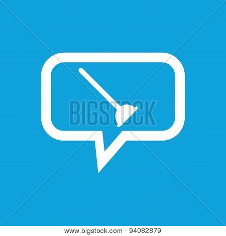 Plunger message icon